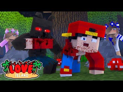 Minecraft LOVE ISLAND - THE WEREWOLF HAS CAPTURED ROPO!!!