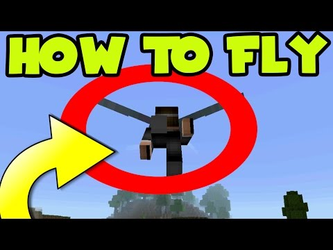 HOW TO FLY! MCPE 0.17.0 UPDATE