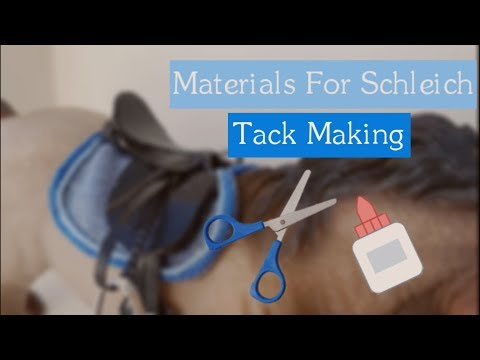 Materials For Schleich Tack Making! ||Daisy Stalls||