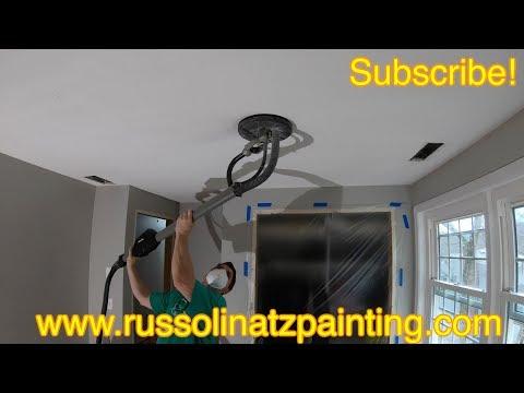 Popcorn Ceiling Removal & Skim Coating (Part 1)