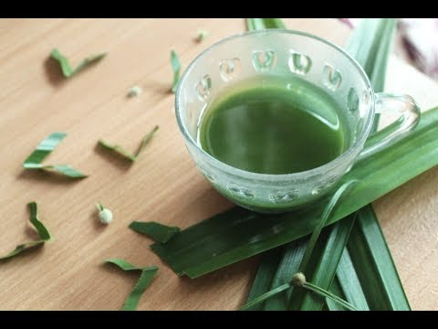 DIY GREEN FOOD COLORING, NATURAL & NO CHEMICAL (DIY Pewarna Hijau Makanan)