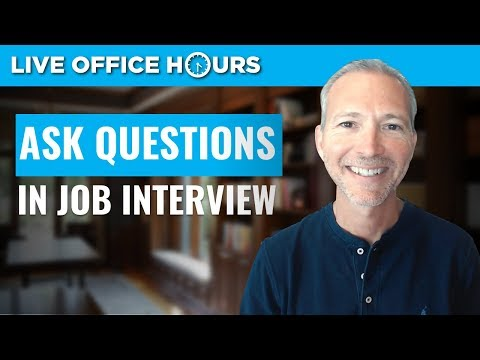 How to Ask Questions in a Job Interview: Live Office Hours: Andrew LaCivita