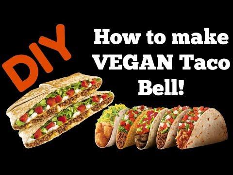 DIY HOW TO COOK TACO BELL RECIPE VEGAN