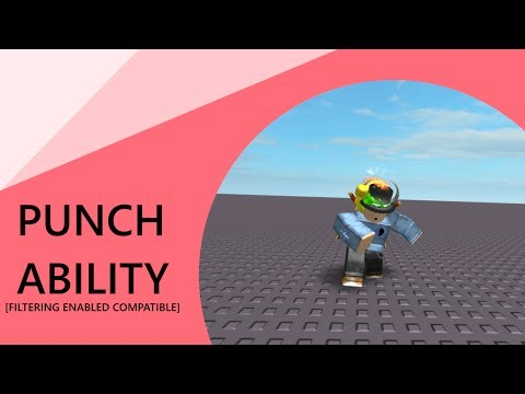 Roblox - Scripting and animating a punch ability! Filtering Enabled Compatible
