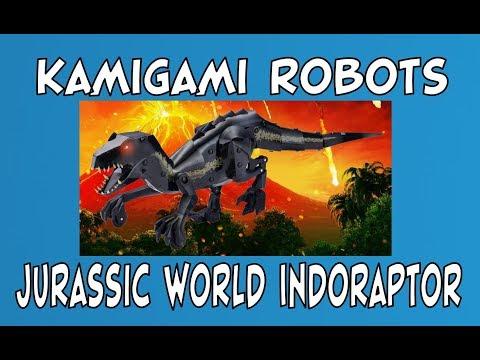 Kamigami Robots | Jurassic World Fallen Kingdom Indoraptor | Build Play Unboxing | #STEM