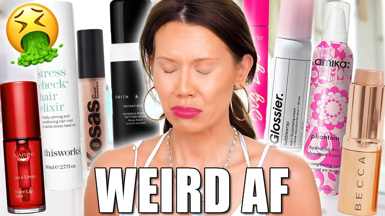 EXPENSIVE and Weird LUXURY MAKEUP Tested