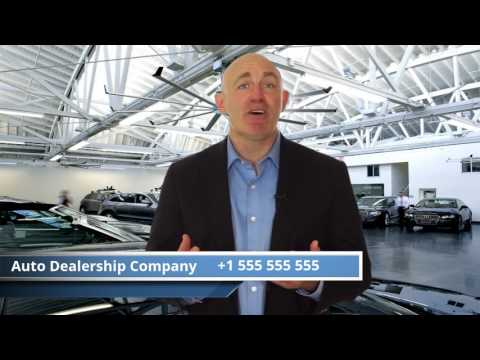 Your personal virtual Auto Dealership intro video