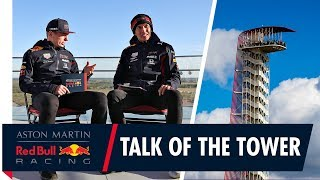 The Talk of the Tower   Max Verstappen and Alex Albon reach new heights at the US Grand Prix