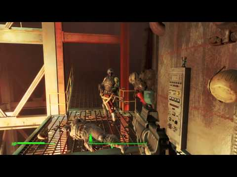 Fallout 4 - Picket Fences Book In Saugus Ironworks (Statues Unlock)