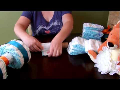 How to make a Diaper Cake - 4 Wheeler / ATV