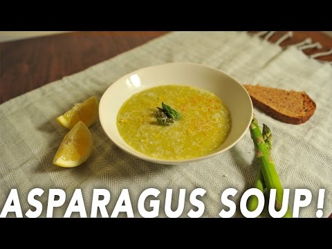 Asparagus Soup - Isobe Food