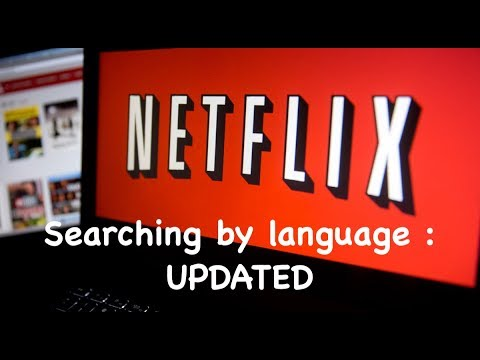 How to Search and Browse Netflix by Language (*Updated version)