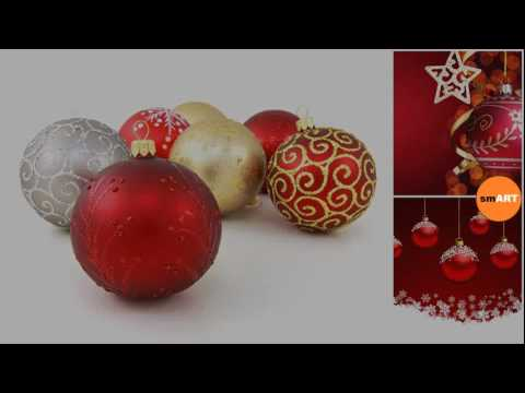 Christmas Village - Christmas Baubles