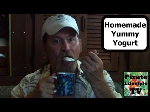 How To Make Healthy Yummy Homemade Yogurt in a Crockpot - Pirate Lifestyle TV ™ Quickie 043