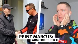 Justin reagiert auf Prinz Marcus trifft Obdachlosen (Teil 1)   Reaktion