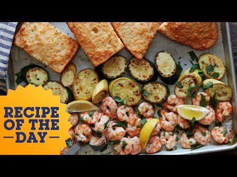 Recipe of the Day: Sheet Pan Shrimp Scampi | Food Network