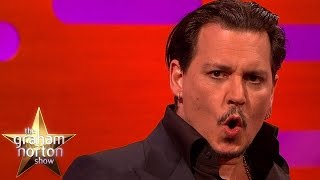 Johnny Depp Does A Great Donald Trump Impersonation - The Graham Norton Show