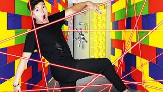 Breaking into the MOST SECURE Giant LEGO Vault! - Challenge