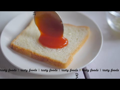 Cheesy and Crunchy oven bread pizza | oven bread recipe | oven bread pizza | tasty foods | 4k
