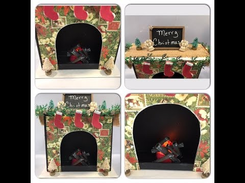 DIY Christmas Fireplace - Pt 1