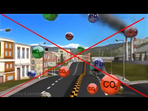 Air Pollution 3D Animation Education Video