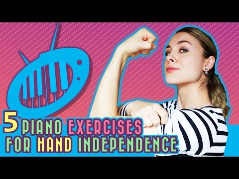 5 Piano Exercises for Hand Independence