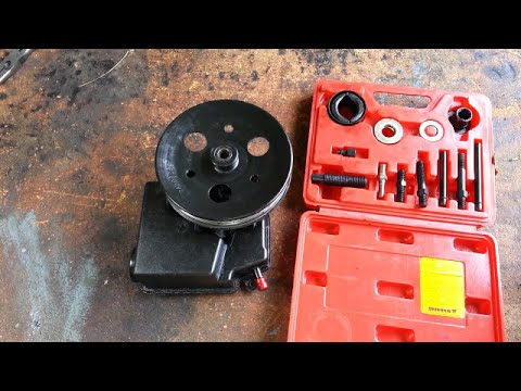 Power steering pump replacement - 2000 Buick Regal 3800 II (3.8L)
