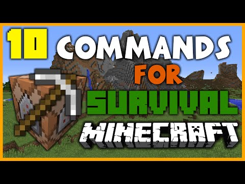 10 Best Commands for Minecraft 1.10 Survival