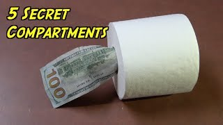 5 Secret Safe Compartments You Can Make At Home To Hide Money- HOUSEHOLD LIFE HACKS