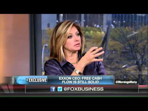 ExxonMobil CEO: Global economy is pretty sluggish