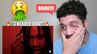 "POLO G BODIED THIS!!! LIL DURK ""3 HEADED GOAT"" ft. LIL BABY & POLO G! *FIRE REACTION!"