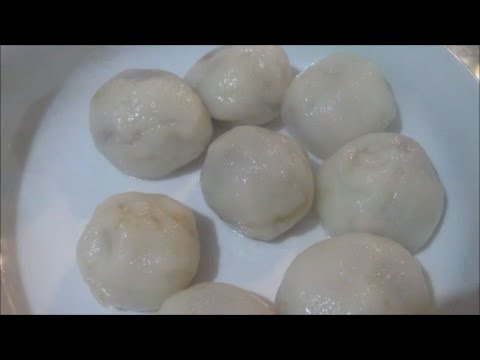 HOW TO MAKE MASI or PEANUTS and BROWN SUGAR RICE BALLS