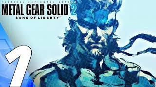Metal Gear Solid 2 Hd - Gameplay Walkthrough Part 1 - Sons Of Liberty