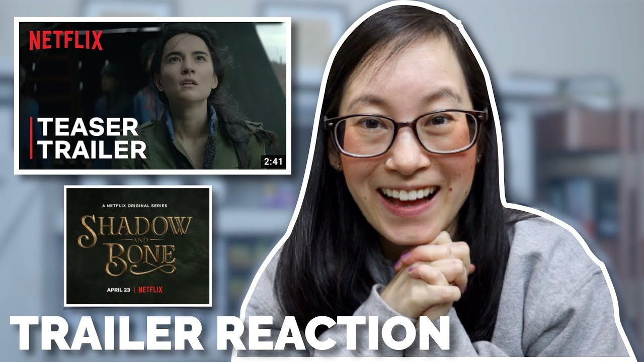 Shadow and Bone Official Netflix Trailer Reaction 😱