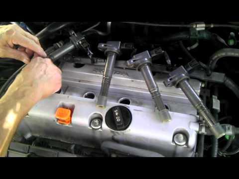 2005 Honda Accord LX 4cyl Spark Plug Replacement