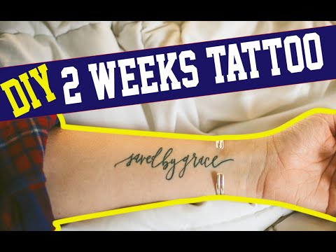 DIY TEMPORARY TATTOO! EASY (WATERPROOF)