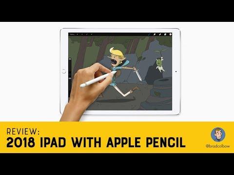 iPad 2018 Review - An Illustrator's Take