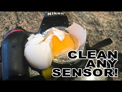 Image Sensor Cleaning Tutorial - The Extreme Test!