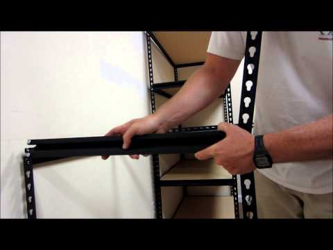 How To Assemble Edsel Steel Shelving