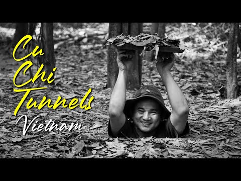 Cu Chi Tunnels Tour in Vietnam