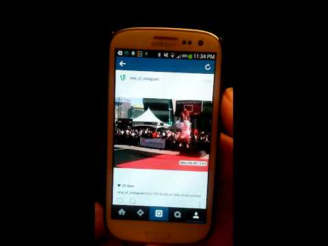 How to put HD videos on Instagram from Vine