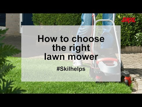 How to choose the right lawn mower