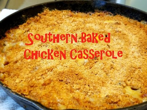 How to Make the BEST Southern Baked Chicken Casserole - Family Meal All in One Pan!