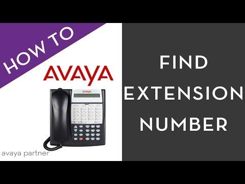 Avaya Partner programming tips: Find your extension number.