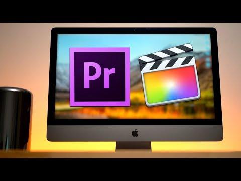 2013 Mac Pro vs iMac Pro - Video Editing (Part 3)