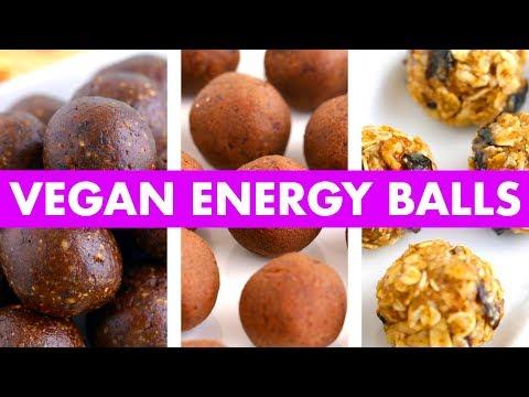 3 Easy Vegan Energy Balls Recipes! - Mind Over Munch
