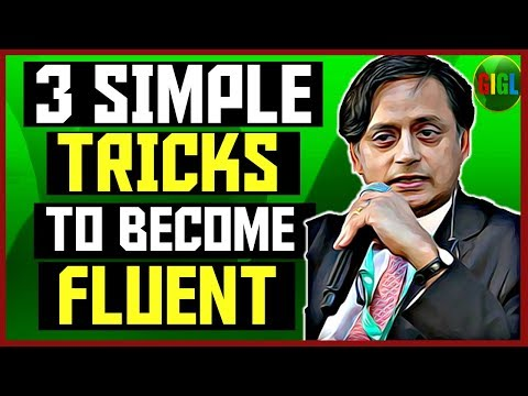 3 SIMPLE TRICKS TO BECOME FLUENT IN ENGLISH | THE TIP METHOD | HOW TO BE A CONFIDENT SPEAKER