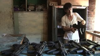 Guns cheaper than smartphones in Pakistani tribal town