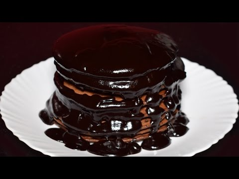 Chocolate Pancake Recipe - How to Make Chocolate Pancakes from scratch - Breakfast Recipe