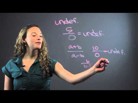 How to Find Out if a Rational Expression Is Undefined : Fun With Math